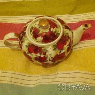 Чайник керамика. В период с 60х по 80е годы. Самовывоз.. Одесса, Одесская область. фото 1