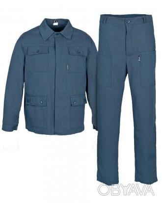 Костюм рабочий, мужской рабочий костюм, комплект рабочий
