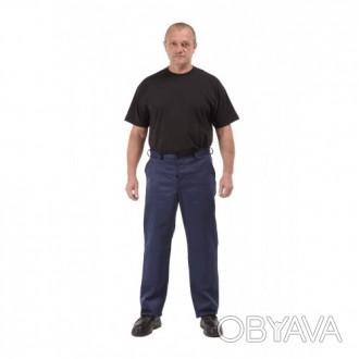 Качественные рабочие темно-синие брюки