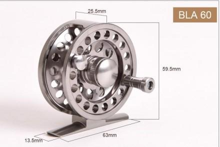 Новая металлическая катушка LEO, модель BLA60. Может быть использована как под . Житомир, Житомирская область. фото 5
