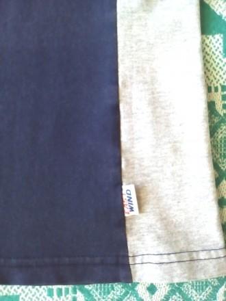 Продаю новую футболочку 46 размера, 95 % каттон на бирке. Покупалась в интернет-. Киев, Киевская область. фото 4
