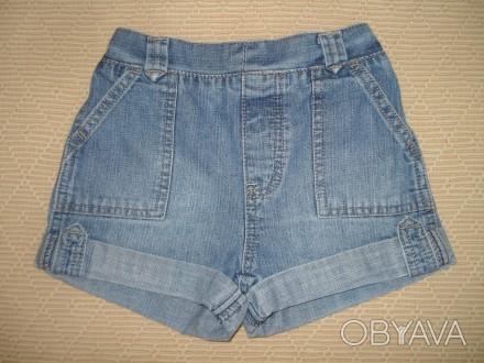 Джинсовые шорты на девочку 3-4 года