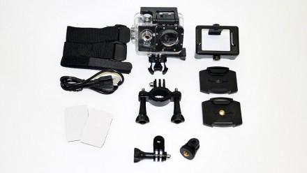 Экшн камера Sports Action Camera Full HD A9. Днепр. фото 1