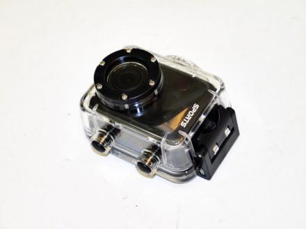 Экшн-камера F40 Sportscam Full HD 1080P  Экшн камера F40 Sportscam Full HD 1080. Днепр, Днепропетровская область. фото 4