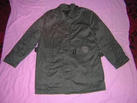 Куртка офицерская повседневная зимняя тёмно-зелёного цвета, новая.. Киев. фото 1
