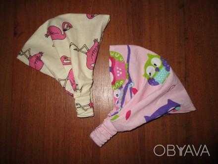 Косынка сделана из польского 100% хлопка. Для большего комфорта ребенка, сзади . Мелитополь, Запорожская область. фото 1