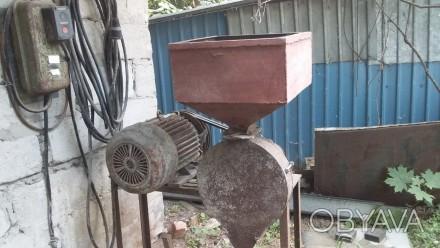 Мельница мукомолка, мельница для муки, зернодробилка 5,5кв об,1420