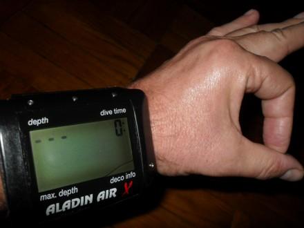 Дёшево дайв-компьютер Aladin Air X. Киев. фото 1
