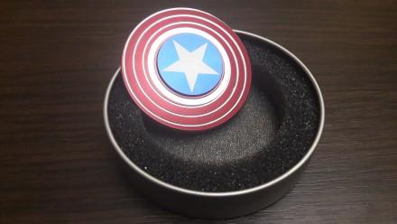 Спиннер Щит Капитана Америки. Мариуполь. фото 1
