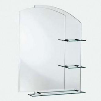 Элегантное зеркало 90 х 70 в ванную комнату. Полная распродажа складов.. Запоріжжя. фото 1