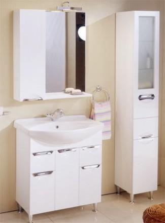 Большой выбор различной мебели в ванную комнату: тумбы, пеналы, зеркала. Лучшие . Запорожье, Запорожская область. фото 6