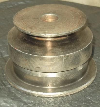 Шкив металлический для помпового насоса одноручейный. Люботин. фото 1