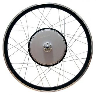 Продаю мотор-колёса для переделки любого обычного велосипеда в электровелосипед.. Николаев. фото 1