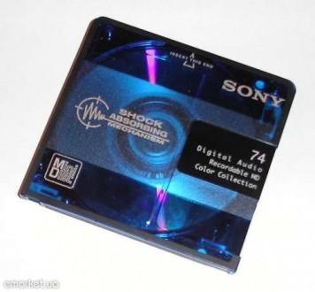 Продаю аудио MiniDisc(цифровые аудио мини-диски, перезаписываемые).. Николаев. фото 1