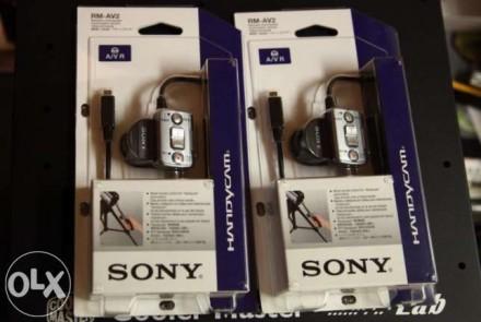 Пульт sony rm-av2 новый в упаковке для видеокамеры Handycam с A/V подключением. Днепр. фото 1
