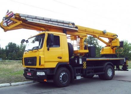 Новая автовышка (автогидроподъемник) АГП-30-А. Киев. фото 1