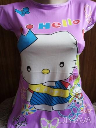 туника платье для девочек на 3-10 лет