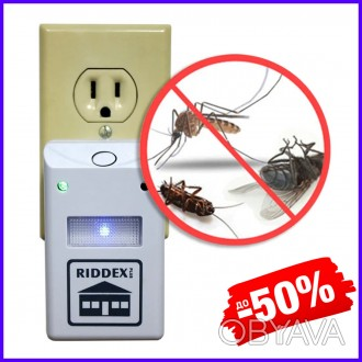 Инновационный ультразвуковой и электромагнитный отпугиватель грызунов и насекомы