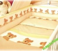 пододеяльник для детского одеяла 110х150 см от 0 до 5 лет бязь хлопок Medison. Киев. фото 1