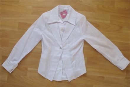 Белая блузка. Польша.. Днепр. фото 1