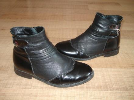 Демисезонные ботинки Lider, 21,5 см.. Херсон. фото 1