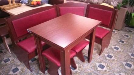 Кухонный уголок Император кухонный стол раскладной, диванчик, 2 табурета. Киев. фото 1