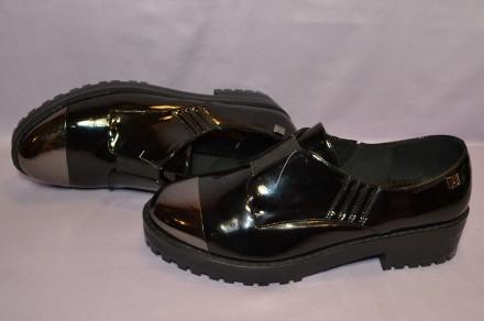 Стильные, комфортные туфли с анатомической подошвой и улучшенной амортизацией ст. Киев, Киевская область. фото 4