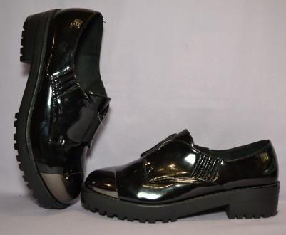 Стильные, комфортные туфли с анатомической подошвой и улучшенной амортизацией ст. Киев, Киевская область. фото 7
