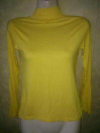 S размер. Гольф приятный на ощупь. Цвет жёлтый,очень красивый.. Одеса. фото 1