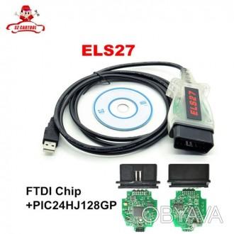 ELS27 - это новый диагностический автомобильный адаптер, сочетающий в себе полну. Львов, Львовская область. фото 1