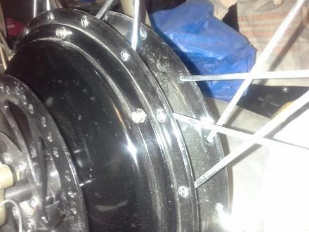 В продаже есть мотор-колёса: 1) Для велосипедов(напряжение от 24 до 60 Вольт, м. Николаев, Николаевская область. фото 3
