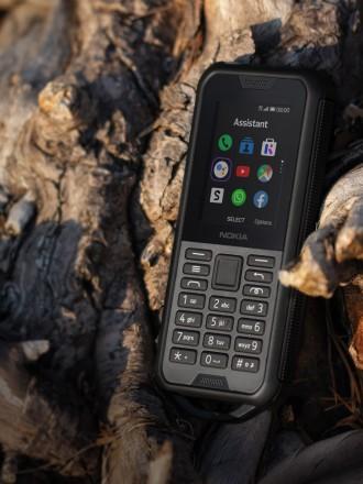 Телефон Nokia 800 Tough черный ВОДА И ПЫЛЕНЕПРОНИЦАЕМЫЙ, С ЗАЩИТОЙ ОТ ПАДЕНИЯ С. Киев, Киевская область. фото 3