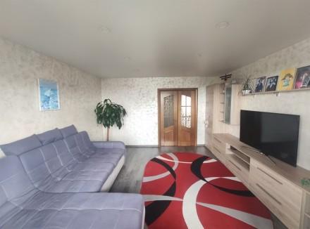 Продам видовую 3-комнатную чешку с ремонтом в кирпичном доме на ж/м Красный Каме. Днепр, Днепропетровская область. фото 4
