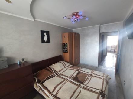 Продам видовую 3-комнатную чешку с ремонтом в кирпичном доме на ж/м Красный Каме. Днепр, Днепропетровская область. фото 7