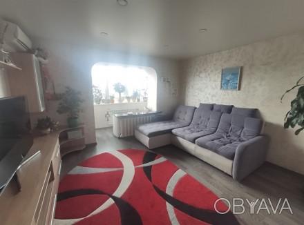 Продам видовую 3-комнатную чешку с ремонтом в кирпичном доме на ж/м Красный Каме. Днепр, Днепропетровская область. фото 1