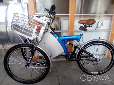 велосипед трехколесный грузовой электровелосипед кастом 350w
