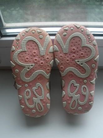 Продам красивые кожаные ботиночки на девочку фирмы Happy Cowboy в очень хорошем . Чернигов, Черниговская область. фото 6