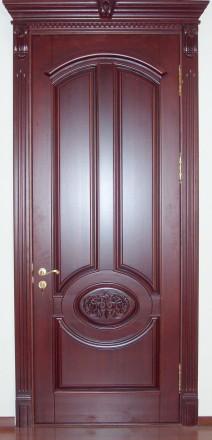 Классические деревянные двери. Бровары. фото 1