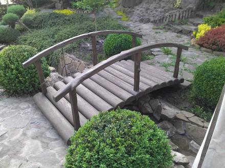 Декоративные мостики для сада и пруда. Бровары. фото 1