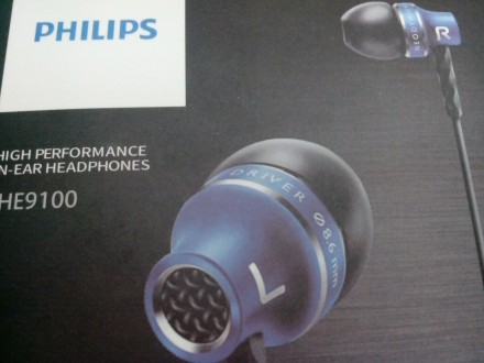 Мощные наушники с микрофоном PHILIPS SHE 9100. Купянск. фото 1