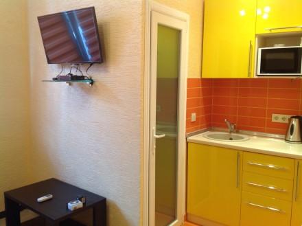 Сдается квартира-студия в Гаспре, в новостройке, с хорошим ремонтом и всеми удоб. Гаспра, Крым. фото 3