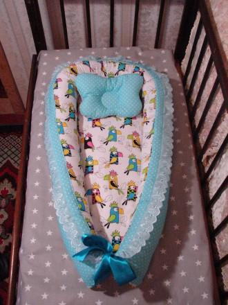 Кокон для немовлят (кокон для новорожденных). Днепр. фото 1