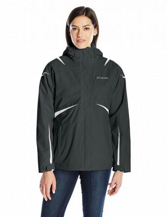 Зимняя женская куртка 3в1 фирмы Columbia, размер М, оригинал из Америки. Черкассы. фото 1
