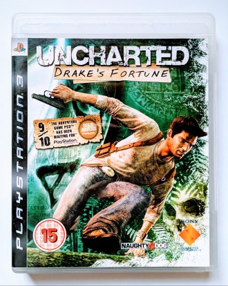 Uncharted Drake's Fortune PS3 диск. Запорожье. фото 1