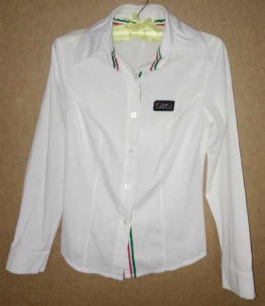 Блуза белая. Знаменка. фото 1