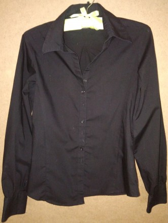 Рубашка черная. Знаменка. фото 1