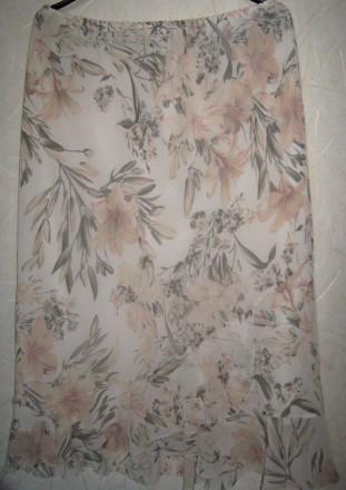 Модного принта юбка большого р-ра.. Светловодск. фото 1
