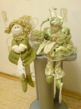 Игрушка Девочка Фея фэнтези ручной работы, куплена в Германии. Харьков. фото 1