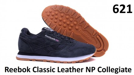Кроссовки Reebok Classic Leather NP Collegiate. Киев. фото 1