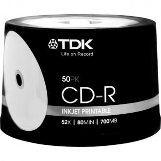 Чистые диски CD-R под печать TDK, Verbatim, Emtec, HP. Киев. фото 1